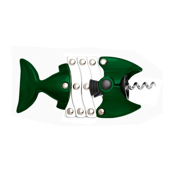 Otvírák na víno Fish Green