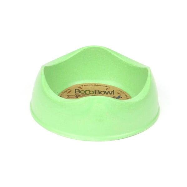 Psí/kočičí miska Beco Bowl 12 cm, zelená