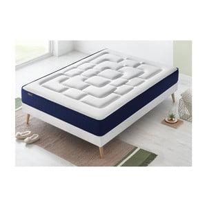 Dvoulůžková postel s matrací Bobochic Paris Velours,140x190cm