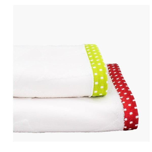 Sada 2 ručníků Grandma, 50x100 cm a 70x140 cm