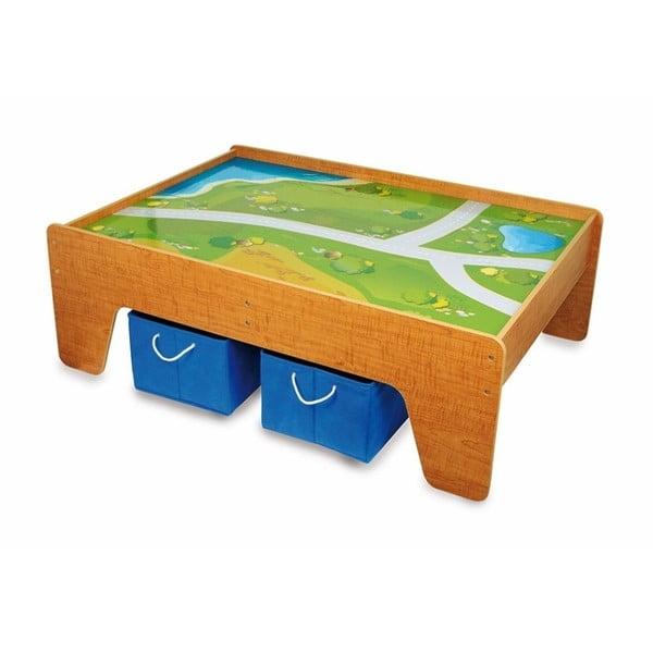 Dřevěný hrací stůl Legler Playtable