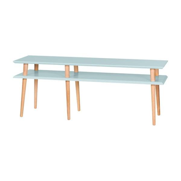 Světle tyrkysový konferenční stolek Ragaba Mugo,délka139cm