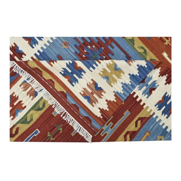 Ručně tkaný koberec Kilim Ishtar, 75x125cm