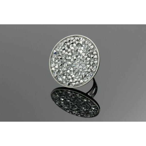 Prsten Swarovski Elements Crispy Mirror