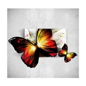Nástěnný 3D obraz Mosticx Butterfly, 40 x 60 cm