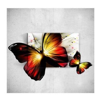 Tablou de perete 3D Mosticx Butterfly, 40 x 60 cm de la Mosticx
