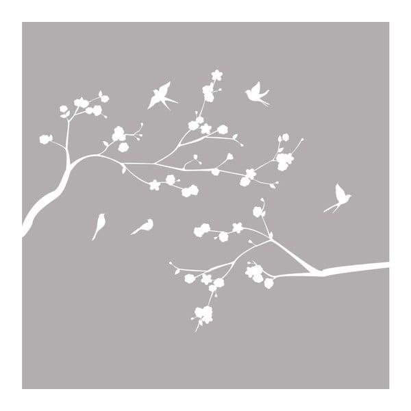 Samolepka Ambiance Flight Of Birds, 55x75cm