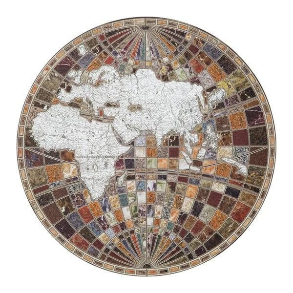 Nástěnná dekorace Mauro Ferretti Byzantine Map,∅ 78cm