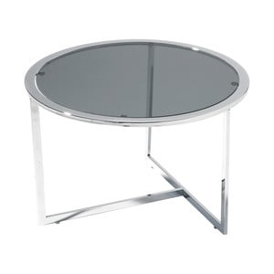 Stolek Table Black Glass