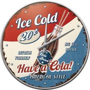 Hodiny Ice Cold, 31 cm