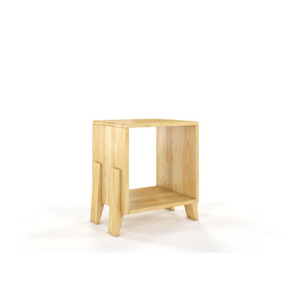 Noční stolek z borovicového dřeva Skandica Visby Gdansk