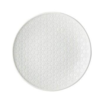 Farfurie din ceramică MIJ Star, ø25 cm, alb imagine