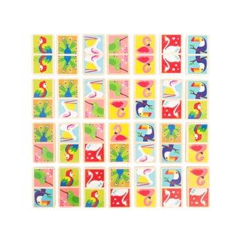 Domino din lemn pentru copii Legler Birds of the World imagine