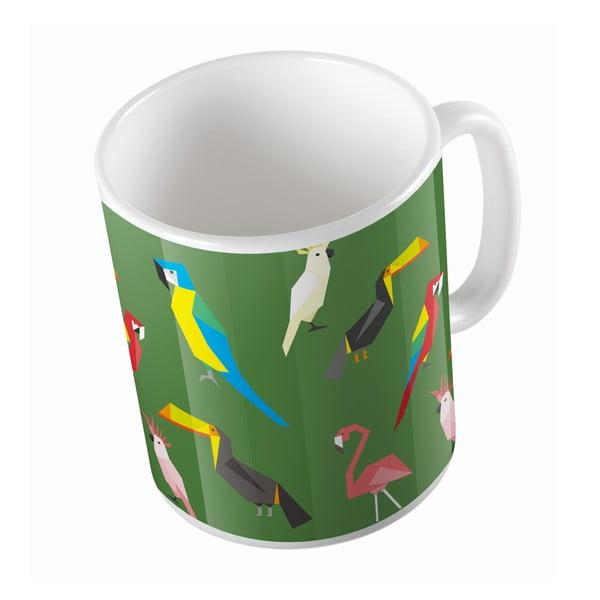Keramický hrnek Exotic Birds, 330 ml