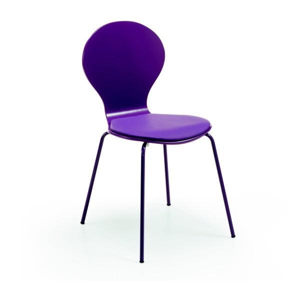 Židle Jazz, fialová