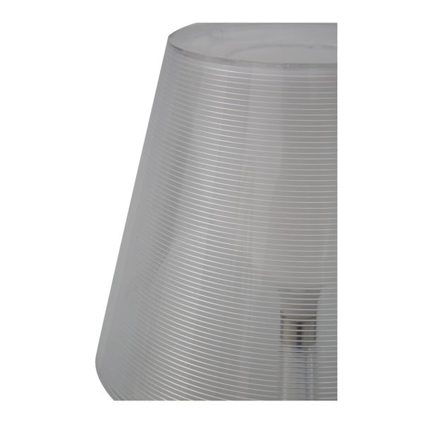 Průhledná stolní lampa Mauro Ferretti Transparente, 33x43cm