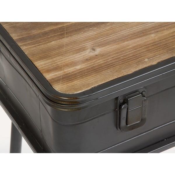 Konzolový stolek z jedlového dřeva a kovu Santiago Pons London Industrial