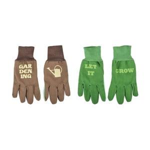 Set 2 perechi mănuși imprimate Esschert Design