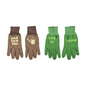 2 páry rukavic s potiskem Esschert Design