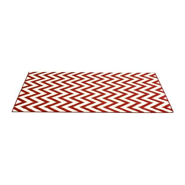 Červený koberec Carpe, 200x290 cm