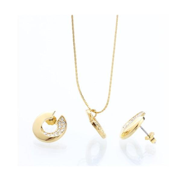 Set náhrdelníku a náušnic s krystaly Swarovski Elements Laura Bruni Itola