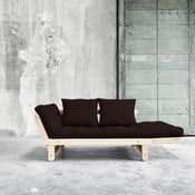 Canapea extensibilă Karup Beat Natural/Brown