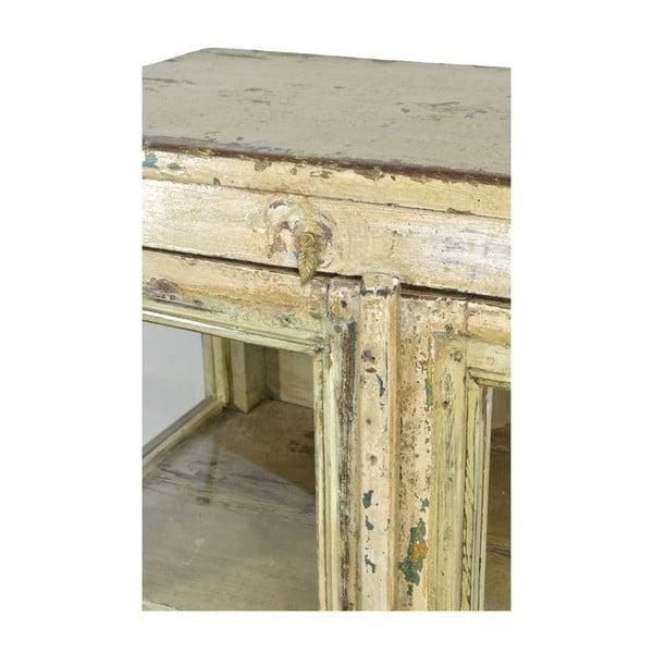 Dřevěná komoda Goa, béžová