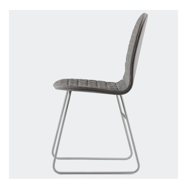 Židle Mannequin Triangel, šedá