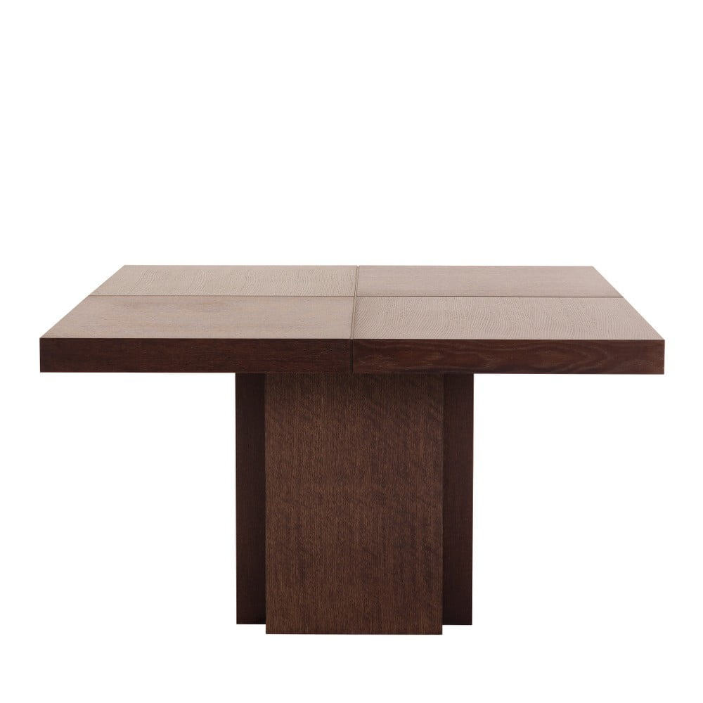 Tmavě hnědý jídelní stůl TemaHome Dusk, 130 cm