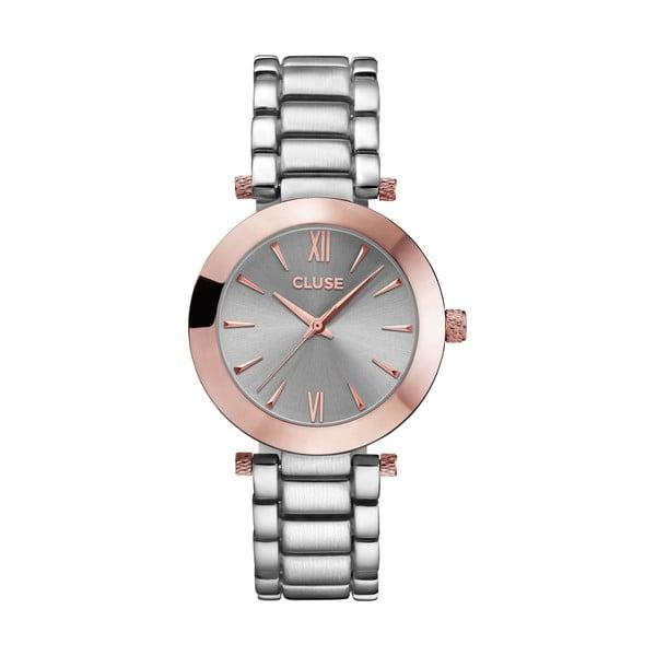 Dámské hodinky La Rondine Silver Rose Gold, 38 mm