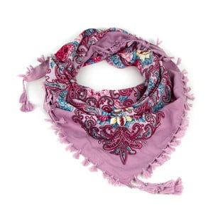 Šátek Folk Violet