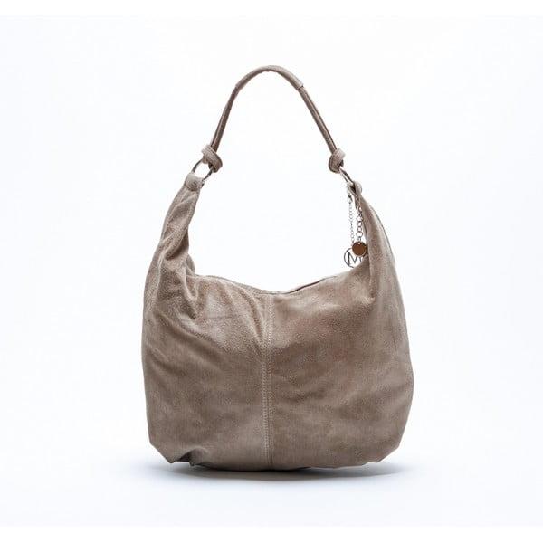 Kožená kabelka Mangotti 8003 Fango