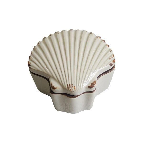 Keramická šperkovnice Shell