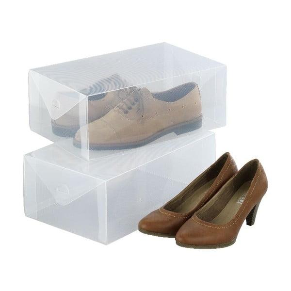 Pack 2 db cipőtároló doboz - Wenko