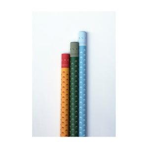 Set 3 hârtii de împachetat Calico Molsa, Gaman, Fladr