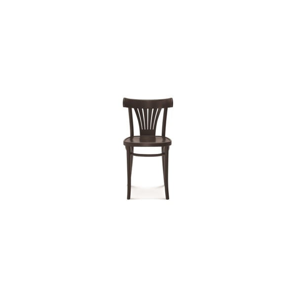 Černá dřevěná židle Fameg Mathias