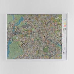 Magnetická mapa Berlína Street map, 130x100cm