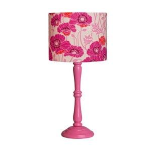 Stolní lampa Pristine Poppys Pink