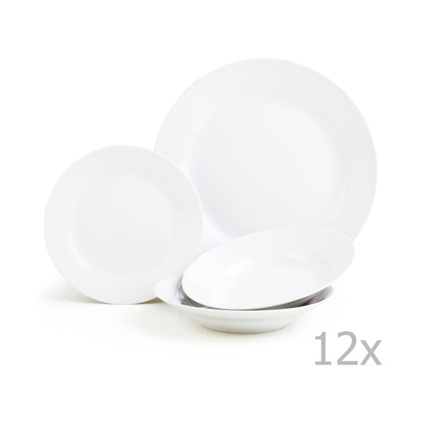 12dílná porcelánová sada nádobí Sabichi Day to Day