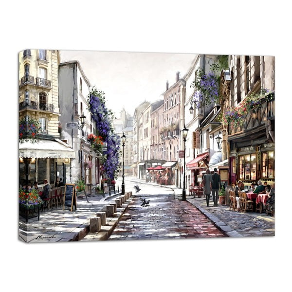 Obraz Styler Canvas Watercolor Paris Mood, 85 x 113 cm