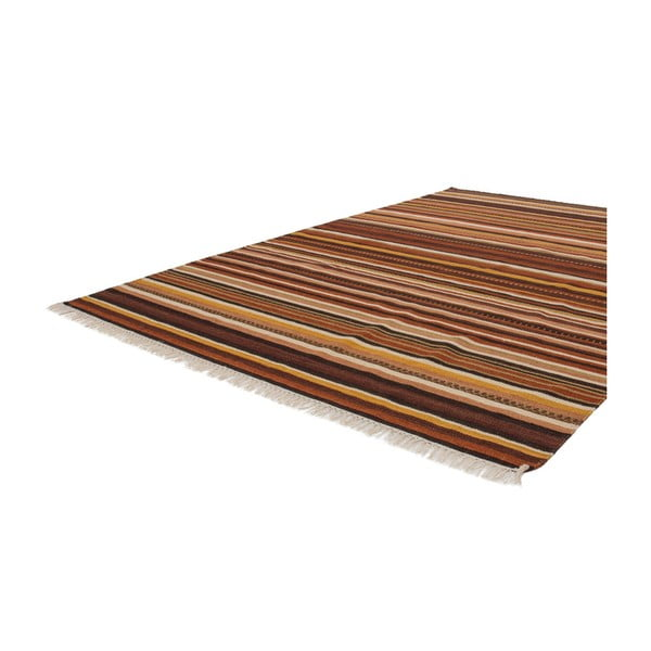 Vlněný koberec Atacama 160x230 cm, hnědý