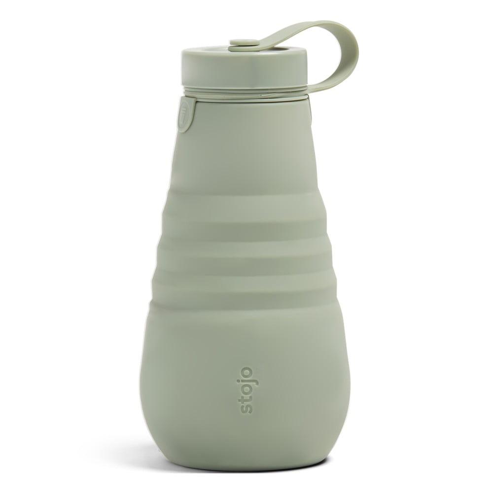 Zelená skládací láhev Stojo Bottle Sage, 590 ml