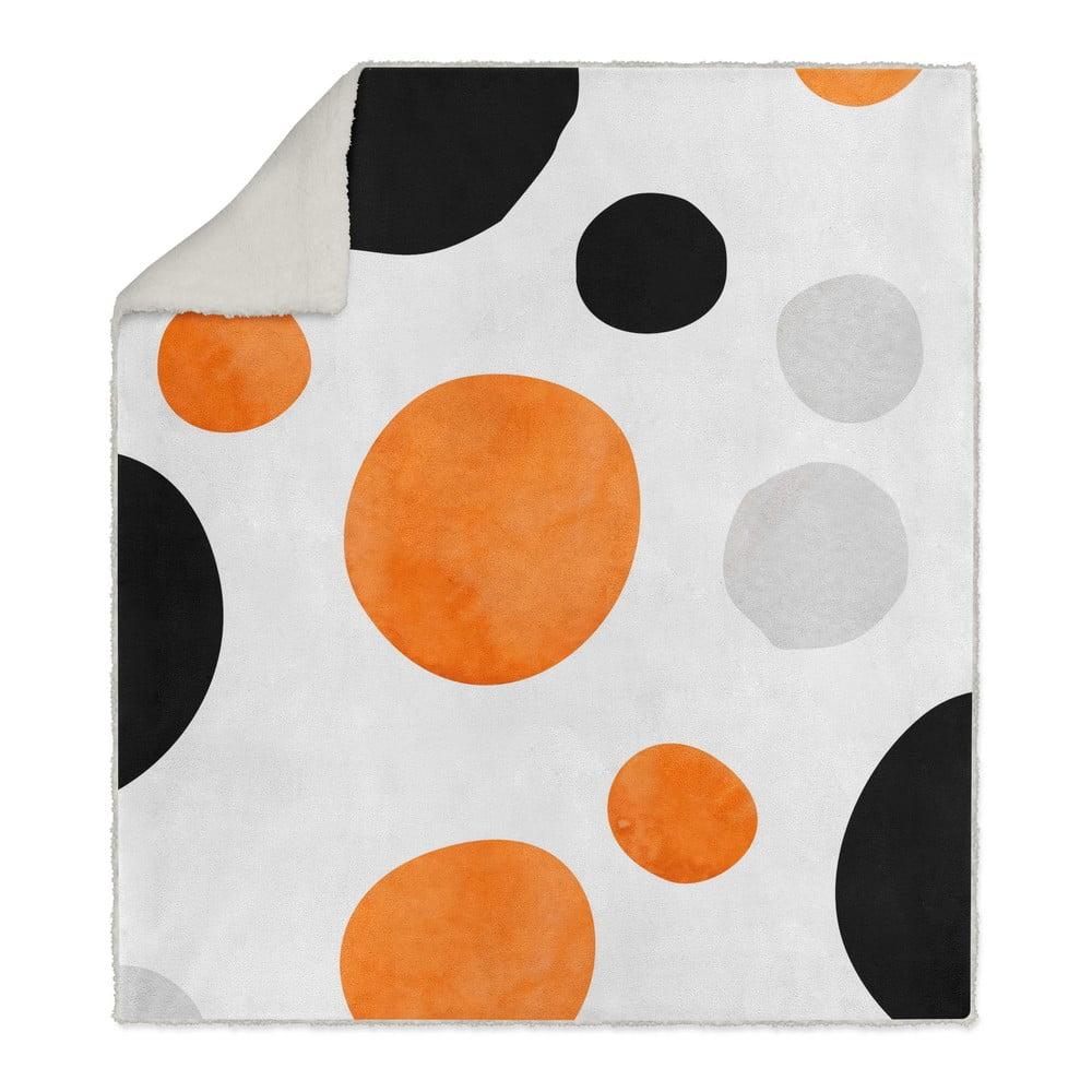 Dětská deka OYO Kids Retro Dots, 130 x 160 cm
