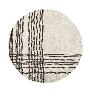 Vlněný koberec Linen Couture Eliseo, ⌀ 140 cm