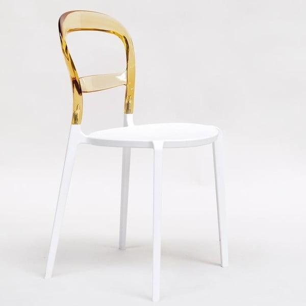 Židle Thalassa Amber/White