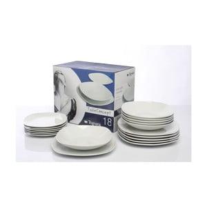 Porcelánová sada 18 talířů White