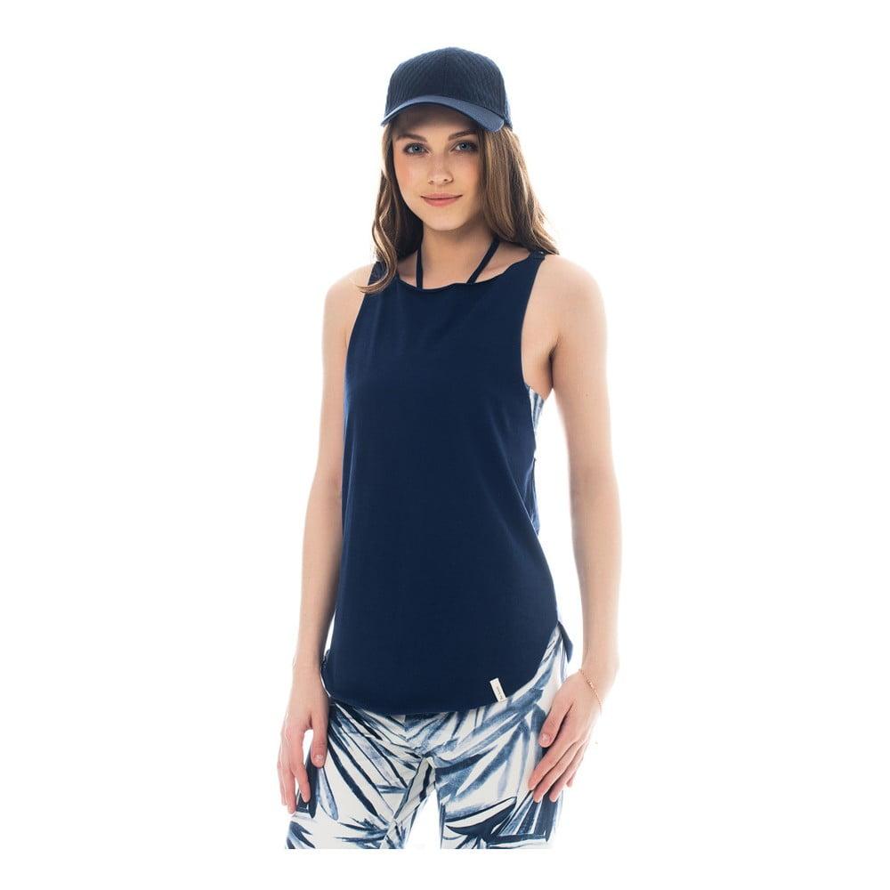 Tmavě modré bavlněné tílko Lull Loungewear Galas, vel. L