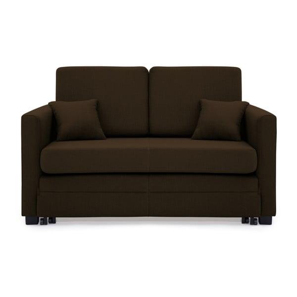 Canapea extensibilă, 2 locuri, Vivonita Brent, maro închis