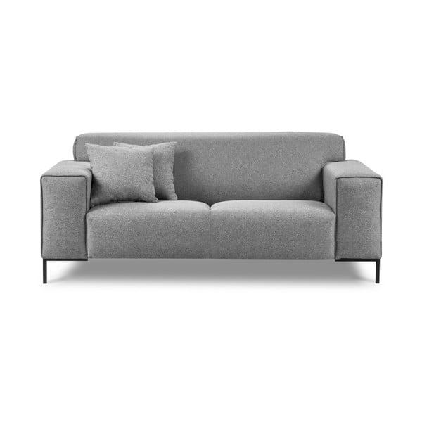 Szara sofa 2-osobowa Cosmopolitan Design Seville