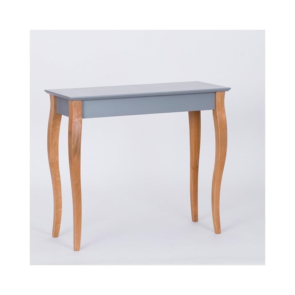 Tmavě šedý odkládací stolek Ragaba Console, délka 85 cm